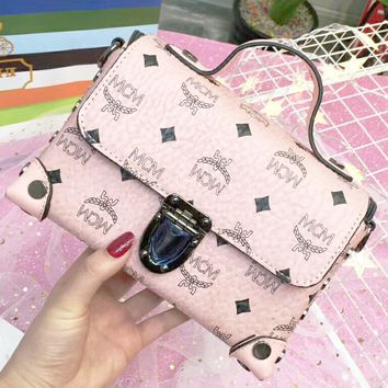 MCM 2018 women's exquisite and simple wild counter fashion zipper bag F-AGG-CZDL