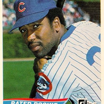 JOE CARTER ROOKIE 1984 DONRUSS #41 CHICAGO CUBS RARE RC