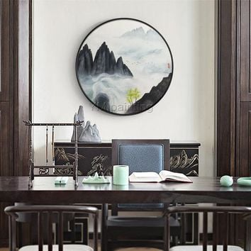 Mountain art painting Abstract Painting on canvas black painting wall pictures textured Original painting cuadros abstractos hand painted