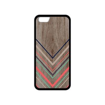 Tribal Chevron Wooden Phone Cases for iPhone 4S 5S 5C 6 6s Plus Samsung Galaxy S3 S4 S5 Mini S6 Edge A3 A5 A7 2015 Note 2 3 4 5