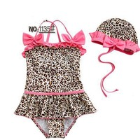 One Piece Pink Cheetah Suit