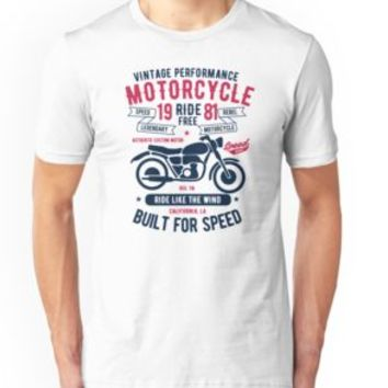'MOTORCYCLE' T-Shirt by Super3