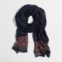 Factory lightweight long printed scarf - Handbags & Accessories - FactoryWomen's New Arrivals - J.Crew Factory