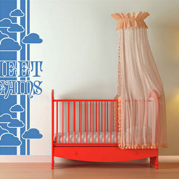rvz1020 Wall Vinyl Sticker Bedroom Decal Words Sign Quote Sweet Dreams