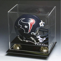 Houston Texans NFL Full Size Football Helmet Display Case
