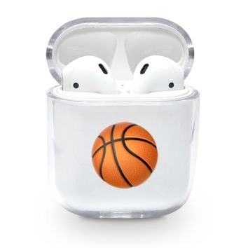 Basketball Emoji Airpods Case