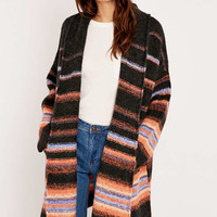 Free People Alpaca Stripe Cardigan Coat - Urban Outfitters
