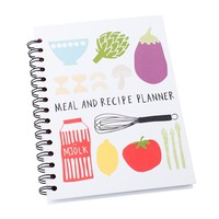 MEAL & RECIPE PLANNER BOOK: LET'S EAT - Shop By