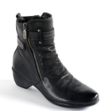 Blondo Farima Waterproof Leather Ankle Boots