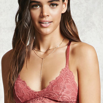 Sheer Lace Bralette