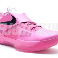 "zoom kd 4 ""aunt pearl (think pink)"" - Kevin Durant - Nike Basketball - Nike 