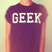 GEEK black tshirt for women tshirts shirts shirt top