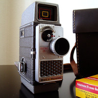Bell Howell Camcorder w/ Case 1950s Amazing Condition by Retrofi