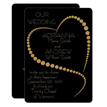 Customizable Poem WEDDING INVITATION
