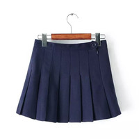 Stylish Winter Pleated Skirt [5013238084]