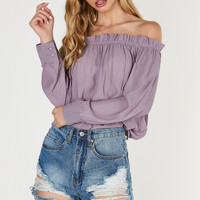 Girly Things Off Shoulder Blouse