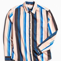 UO Stripe Button-Down Shirt | Urban Outfitters