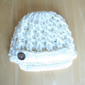 Crochet Newsboy hats for babies and toddlers, crochet newsboy cap, knit hat for baby girls, hat for baby boys, hats for babies and toddlers