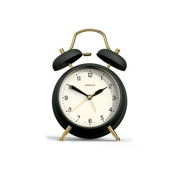 Brass Knocker Alarm Clock in Velvet Green design by Newgate – BURKE DECOR