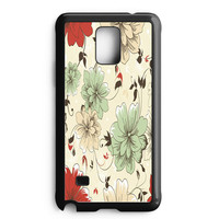 Vintage Flower Samsung Galaxy Note 4 Case
