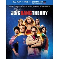 The Big Bang Theory: The Complete Seventh Season (5 Discs) (UltraViolet) (Blu-ray) (W) (Widescreen)
