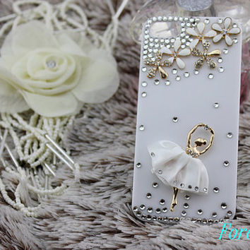 iphone case, i phone 4 4s 5 case, cool cute iphone4 iphone4s 5 case,stylish plastic rubber cases cover, Artificial Swarovski Crystal