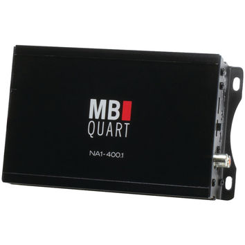 Mb Quart Nautic Series Compact Powersports Class D Amp (monoblock 400 Watts X 1)