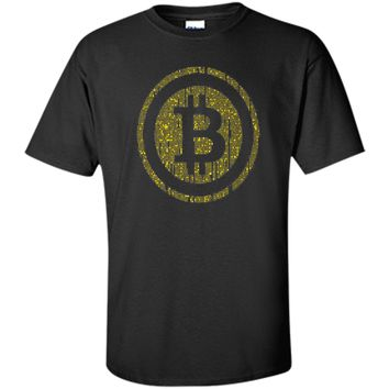 Binary Bitcoin Shirt Cryptocurrency Shirt