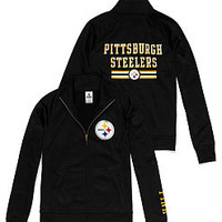 Pittsburgh Steelers Track Jacket - PINK - Victoria's Secret