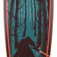 Santa Cruz Star Wars Episode VII Kylo Ren Pin Complete 9.58x39