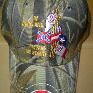 In Dixieland I'll Take My Stand Hat