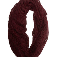 Open-Weave Infinity Scarf | Wet Seal