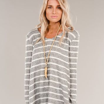 Gray Days Top