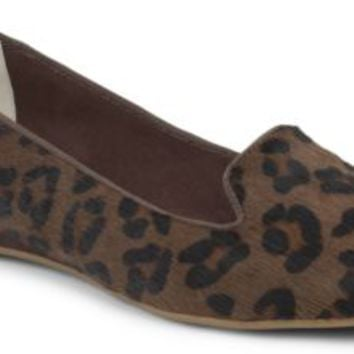 Sperry Top-Sider Miramar Haircalf Flat LeopardHaircalf, Size 5M  Women's Shoes
