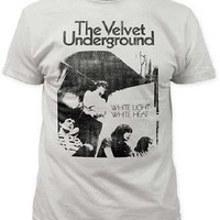 The Velvet Underground White Light White Heat Album Art Adult T-Shirt - Large