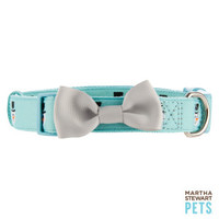 Martha Stewart Pets® Holiday Snowman Bow Dog Collar