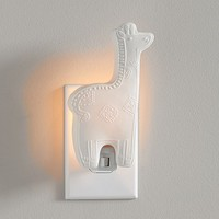 Ceramic Giraffe Nightlight