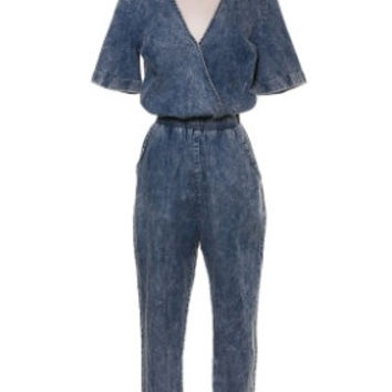 Oh So Denim Jumpsuit
