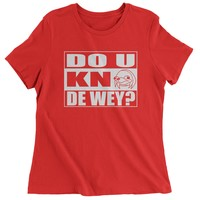 Do You Know The Way Ugandan Knuckle Spicy Meme Womens T-shirt