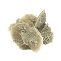 Gypsum Sand Selenite Brown Crystal Sand Included Gypsum crystals Home Decor Display Mineral Specimen, Natural Geology Earth Sample Mexican