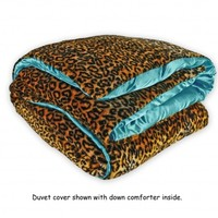 Wake Up Frankie - Trashy Tina Duvet - Tiffani Blue : Teen Bedding, Pink Bedding, Dorm Bedding, Teen Comforters