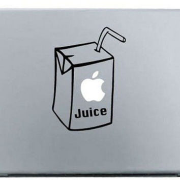 "Apple Juice MacBook Decal Skin Sticker for Pro, Air and Retina 11"" 13"" 15"" inch"