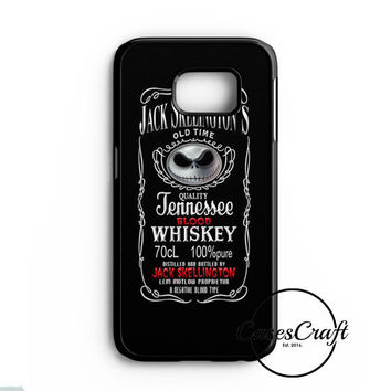 Jack Skellington Whiskey Daniels Samsung Galaxy S7 Case