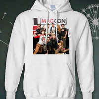 magcon boys my hoodie black and white