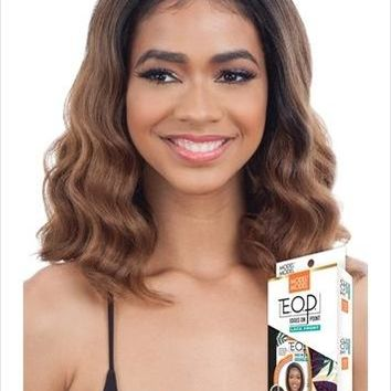 MODEL MODEL  LACE FRONT WIG WITH BABY HAIR  - EDGES ON POINT (EOP702)