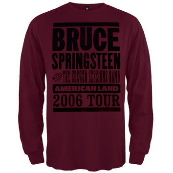 Bruce Springsteen - Americanland 06 Tour Long Sleeve T-Shirt