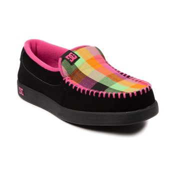 Womens DC Villain Skate Shoe, Black Rainbow | Journeys Shoes