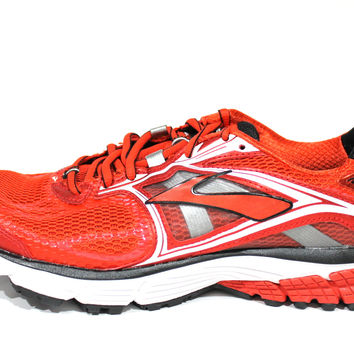Brooks Men's Ravenna 5 High Risk Red/Silver Guidance Running Shoes