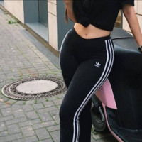 """Adidas"" Fashion Women Men Loose Exercise Sport Pants Trousers Sweatpants"