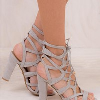 Billini Frost Suede Barrington Heels
